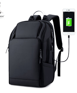 https://refuseyoulose.com Waterproof Luxury Backpack Gym Bags 🎒 color: Black Refuse You Lose https://refuseyoulose.com/shop/anti-theft-water-resistant-backpack-with-charging-port/