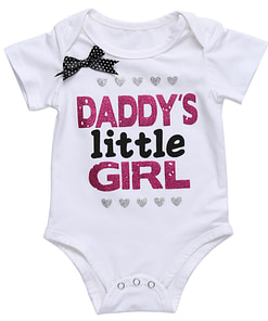 https://refuseyoulose.com Baby Girl's Daddy's Little Girl Printed Summer Bodysuit Deals For Babies color: Black|White Refuse You Lose https://refuseyoulose.com/shop/baby-girls-daddys-little-girl-printed-summer-bodysuit/