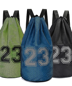 https://refuseyoulose.com 23 Print Large Basketball Mesh Bag Best Gifts of 2020 For Men 💪 Basketball Products 🏀 Gym Bags 🎒 color: Black|Dark Grey|Green|Orange|Red|Sky Blue Refuse You Lose https://refuseyoulose.com/shop/23-print-large-basketball-mesh-bag/