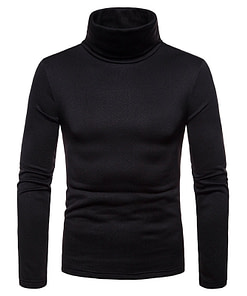 Men's Turtleneck Warm Pullover Limited Time Deals ⏳ 2020 New Deals 🎉 Coats For Men color: Black|Army Green|Burgundy|Navy Blue Refuse You Lose https://refuseyoulose.com