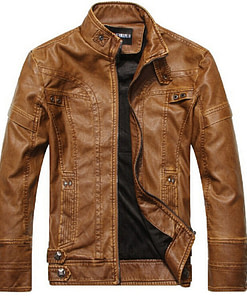 Leather Jackets for Men Limited Time Deals ⏳ 2020 New Deals 🎉 Best Gifts of 2020 🎁 Best Gifts of 2020 For Men 💪 Deals For Men 💪 Coats For Men color: Black|Khaki|BROWN Refuse You Lose https://refuseyoulose.com