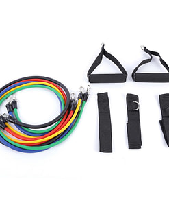 Universal Indoor Latex Resistance Bands Kit Workout At Home Workout at Home For Women Workout at Home For Men Workout Equipment 2020 New Deals Best Gifts For Women in 2020 Best Gifts For Men in 2020 Gifts For Men Gifts For Women Sports & Jerseys Gym and Fitness Fitness Equipment Resistance Bands color: colormix