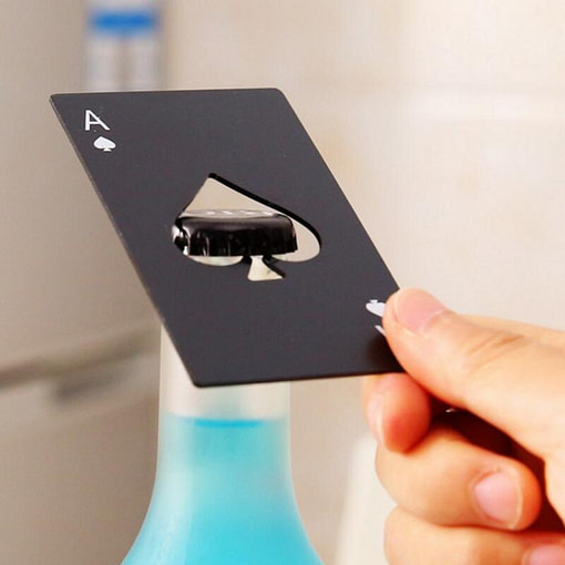 https://refuseyoulose.com Ace Card Stainless Steel Bottle Opener Best Gifts of 2020 For Men 💪 color: Black|Silver Refuse You Lose https://refuseyoulose.com/shop/ace-card-stainless-steel-bottle-opener/