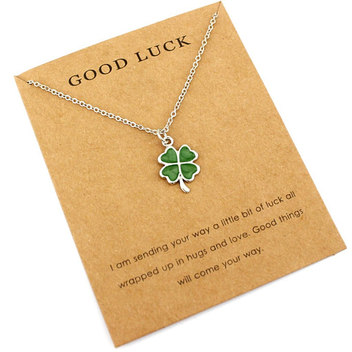 https://refuseyoulose.com Lucky Charm Necklace Jewelry 💎 Best 2019 Deals Clearance 🚨 Fine or Fashion: Fashion Refuse You Lose https://refuseyoulose.com/shop/lucky-charm-necklace/