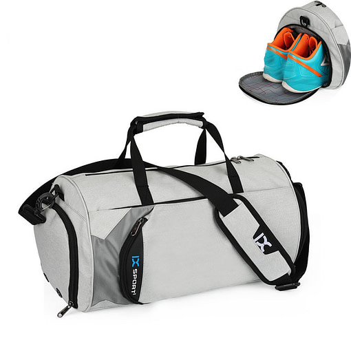 Waterproof Gym Shoulder Bag Best Gifts For Men in 2020 Gifts For Men Gym Bags color: Black Big|Black Small|Blue Big|Blue Small|Deep Grey Big|Deep Grey Small|Gray Big|Grey Small
