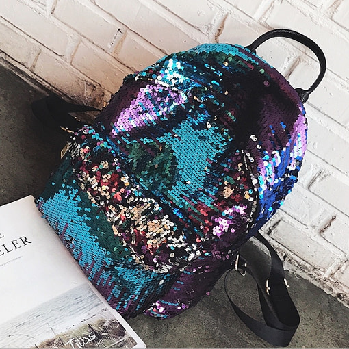 Fashion HolographicSequins Backpack Limited Time Deals ⏳ 2020 New Deals 🎉 Best Gifts of 2020 🎁 Best Gifts of 2020 For Girls 👸🏻 Best Gifts of 2020 For Women 🌹 Deals For Women 👗 Accessories For Women color: Creamy White|Black|Blue|Gold Refuse You Lose https://refuseyoulose.com