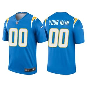Los Angeles Chargers Jersey For Men, Women, or Youth | Customizable color: Alternate Navy Blue|Black V-Neck|Alternate Royal Blue|City Edition|Pro Bowl|Salute to Service|Home|Road  Refuse You Lose