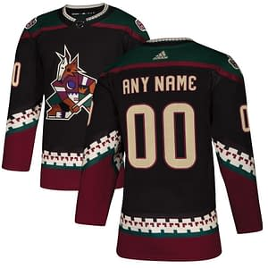 Arizona Coyotes Hockey Jersey For Men, Women, or Youth | Customizable color: Black Golden|Reverse Retro|Alternate|Home|Road  Refuse You Lose
