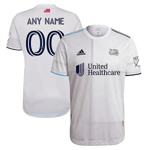 New England Revolution Jersey for Men, Women, or Youth | Customizable color: 2020 Home|2020 Road|2021 Road|2018 Home|2018 Road|2019 Home|2019 Road  Refuse You Lose