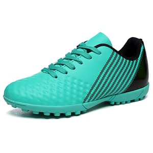 Football Boots for Intensive Trainings Refuse You Lose color: White Green Orange Sky Blue