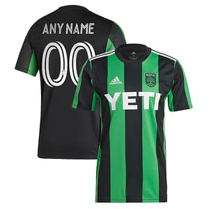 Austin FC Soccer Jersey for Men, Women, or Youth | Customizable color: 2021 Home|2021 Road  Refuse You Lose