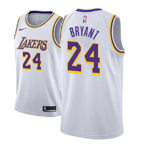Kobe Bryant Lakers Jersey for Men, Women, or Youth color: Purple 24 Purple 8 White 24 White 8 Yellow 24 Yellow 8  Refuse You Lose