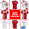 Denmark Soccer Jersey For Women, Youth, or Men | Customizable color: 2020-2021 Home Concept|2020-2021 Road Concept|2018-2019 Home|2018-2019 Road  Refuse You Lose