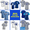 Kansas City Royals Jersey For Men, Women, or Youth | Customizable color: 2018 Nickname|2019 Alternate Light Blue|2019 Alternate Royal Blue|2019 Nickname|2020 Alternate Light Blue|2020 Alternate Royal Blue|2020 Home|2020 Road|2019 Home|2019 Road|Memorial Day  Refuse You Lose