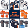 Denver Broncos Football Jersey For Men, Women, or Youth   Customizable brand: Refuse You Lose  Refuse You Lose