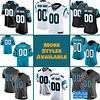 Jacksonville Jaguars Jersey For Men, Women, or Youth   Customizable color: Alternate Teal Black V-Neck Gold City Edition Pro Bowl Salute to Service Home Road  Refuse You Lose