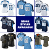 Tennessee Titans Jersey For Men, Women, or Youth | Customizable color: Black V-Neck|Alternate Light Blue|City Edition|Pro Bowl|Red|Salute to Service|Home|Road  Refuse You Lose
