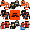 Philadelphia Flyers Jersey For Men, Women, or Youth   Customizable color: Black Golden Reverse Retro Alternate Home Road  Refuse You Lose