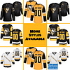 Pittsburgh Penguins Jersey For Men, Women, or Youth   Customizable color: Black Golden Reverse Retro Alternate Home Road  Refuse You Lose
