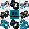 San Jose Sharks Jersey For Men, Women, or Youth   Customizable color: Black Golden Reverse Retro Alternate Home Road  Refuse You Lose