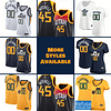 Utah Jazz Basketball Jersey For Men, Women, or Youth | Customizable color: Alternate Gold|City Edition|Home|Road  Refuse You Lose