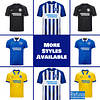 Brighton Soccer Jersey for Men, Women, or Youth   Customizable color: 2020-2021 Home 2020-2021 Road 2020-2021 Third 2019-2020 Home 2019-2020 Road 2018-2019 Home  Refuse You Lose