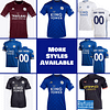 Leicester City FC Jersey for Men, Women, or Youth   Customizable color: 2020-2021 Home 2020-2021 Road 2020-2021 Third 2019-2020 Home 2019-2020 Road 2019-2020 Third  Refuse You Lose