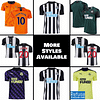 Newcastle United FC Jersey for Men, Women, or Youth   Customizable color: 2020-2021 Home 2020-2021 Road 2020-2021 Third 2019-2020 Home 2019-2020 Road 2019-2020 Third  Refuse You Lose