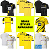 Borussia Dortmund Soccer Jersey For Men, Women, or Youth   Custom color: 2020-2021 Home 2020-2021 Road 2020-2021 Third 2019-2020 Home 2019-2020 Road 2018-2019 Home 2018-2019 Road  Refuse You Lose