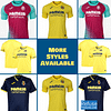 Villarreal CF Soccer Jersey for Men, Women, or Youth   Customizable color: 2020-2021 Home 2020-2021 Road 2020-2021 Third 2019-2020 Home 2019-2020 Road 2019-2020 Third  Refuse You Lose