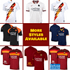AS Roma Soccer Jersey for Men, Women, or Youth   Customizable color: 2020-2021 Home 2020-2021 Road 2020-2021 Third 2019-2020 Home 2019-2020 Road 2019-2020 Third  Refuse You Lose