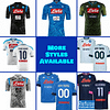 SSC Napoli Soccer Jersey For Men, Women, or Youth | Customizable color: 2020-2021 Home|2020-2021 Road|2020-2021 Third|2019-2020 Home|2019-2020 Road|2019-2020 Third|2018-2019 Home|2018-2019 Road|2018-2019 Third  Refuse You Lose