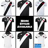 Vasco da Gama Jersey for Men, Women, or Youth   Customizable color: 2020-2021 Home 2020-2021 Road 2019-2020 Home 2019-2020 Road 2019-2020 Third  Refuse You Lose