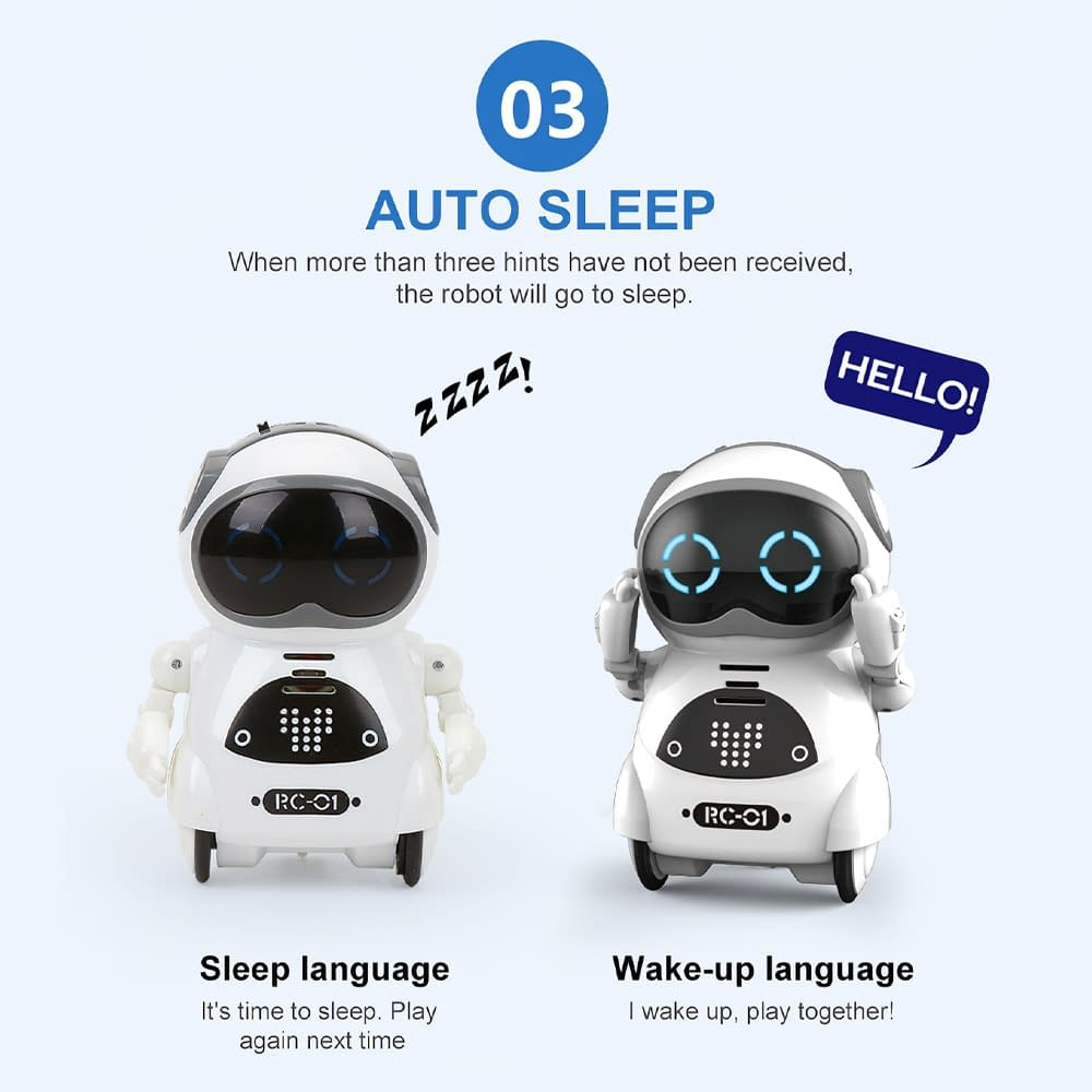 939A Pocket RC Talk-Sing-and-Dance-Intelligent-Robot-brand-Refuse-You-Lose-Refuse-You-Lose-1 Talking Interactive Dialogue Voice Recognition Record Singing Dancing Telling Story Mini RC Talk-Sing-and-Dance-Intelligent-Robot-brand-Refuse-You-Lose-Refuse-You-Lose-1 Toys Gift