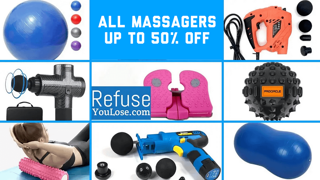 All Massagers Up to 50% Off at RefuseYouLose.com