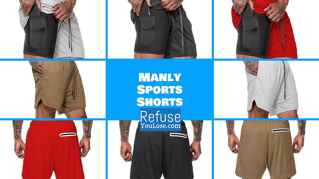 Manly Shorts Available at RefuseYouLose.com