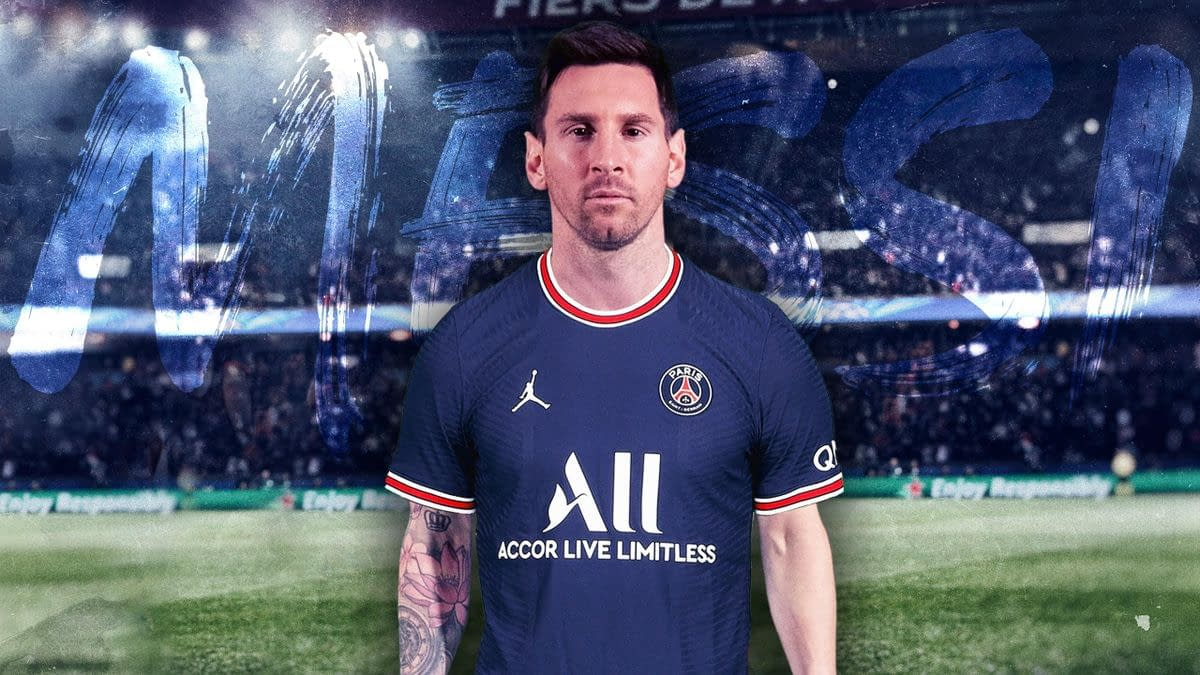 Lionel Messi PSG Jersey for Men, Women, or Youth
