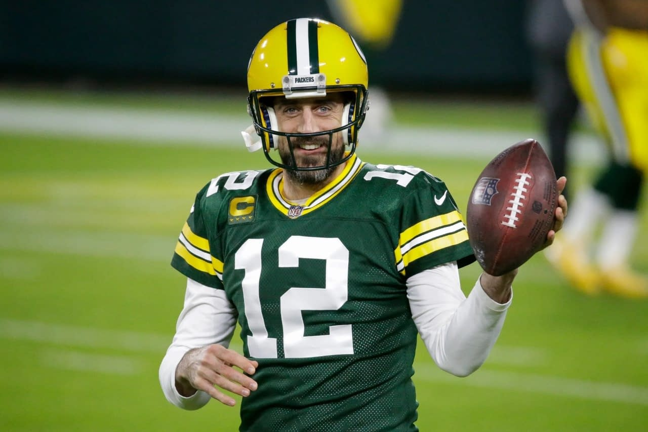Aaron Rodgers Packers Jersey for Women, Youth, or Men