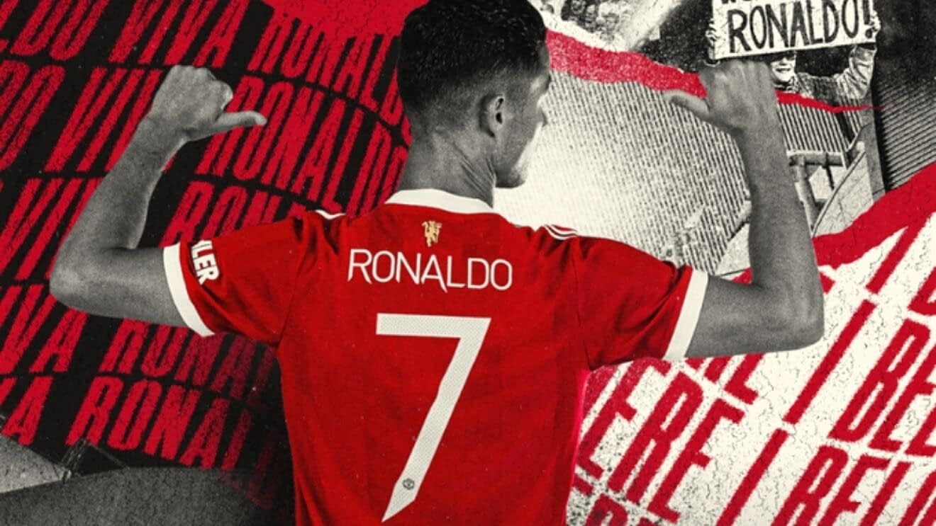 Cristiano Ronaldo Manchester United Soccer Jersey for Women, Youth, or Men