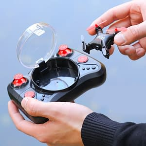 Smallest Drone in The World with HD Camera Refuse You Lose color: Yellow|Red