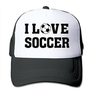 I Love Soccer Hat Refuse You Lose color: Black Blue Gray Pink Yellow Green Orange Purple Red