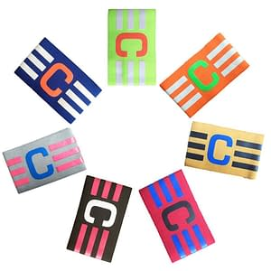 Soccer Team Captain Bands color: Black|Blue|Gray|Yellow|Green|Orange|Red  Refuse You Lose