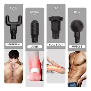 High frequency Massage gun muscle relax body relaxation Electric massager with portable bag for fitness Phoenix A2 color: S1 Black|S1 S2 battery|S1 Silver|S2 Black|S2 Silver  Refuse You Lose