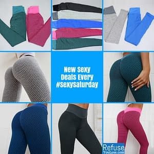 NORMOV Push Up Leggings For Women High Waist Fitness Leggings mujer Hollow Breathable Sportswear Ladies Polyester Skinny Yoga color: Blue|Red|Gray|Black and Gray|Green  Refuse You Lose