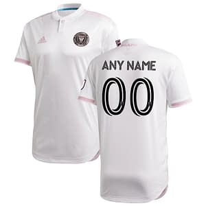 Inter Miami CF Jersey for Men, Women, or Youth | Customizable color: 2020 Home|2020 Road|2021 Home|2021 Road  Refuse You Lose