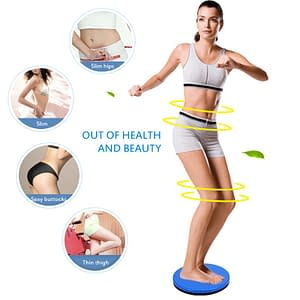 Full Body Workout Twisted Disk color: Blue Pink Silver Green Purple  Refuse You Lose