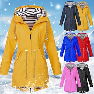 NIBESSER 2020 Women Jacket Coat Waterproof Transition Jacket Outdoor Hiking Clothes Lightweight Raincoat Women's Raincoat brand: Refuse You Lose  Refuse You Lose