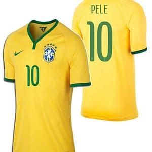 Pele Brazil Soccer Jersey for Men, Women, or Youth color: 1919 Anniversary 2020-2021 Home Retro Home Retro Road Road World Cup  Refuse You Lose
