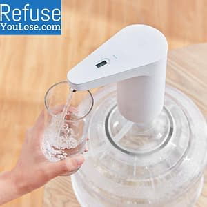 Automatic Mini Water Dispenser color: Bucket|standard pump|standard pump bucket|TDS pump and bucket|TDS water pump  Refuse You Lose