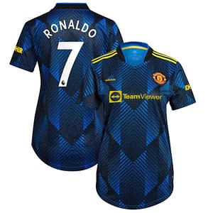 Cristiano Ronaldo Manchester United Soccer Jersey for Women, Youth, or Men  Refuse You Lose